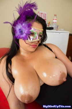 Oiled And Titty Fucked